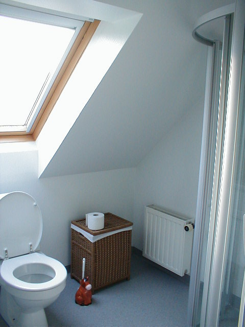 Bed and Breakfast - Toilet for Værelse 3