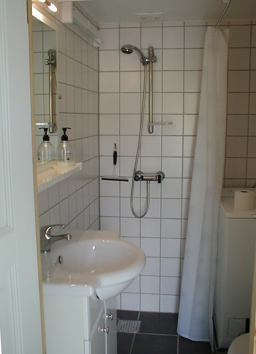 Bed and Breakfast - Lille Ferielejlighed Toilet